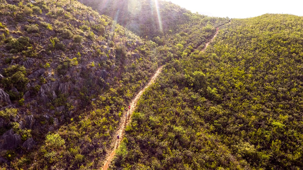 The Dryland Traverse route features some challenging mountain singletracks. Photo by Mark le Roux.