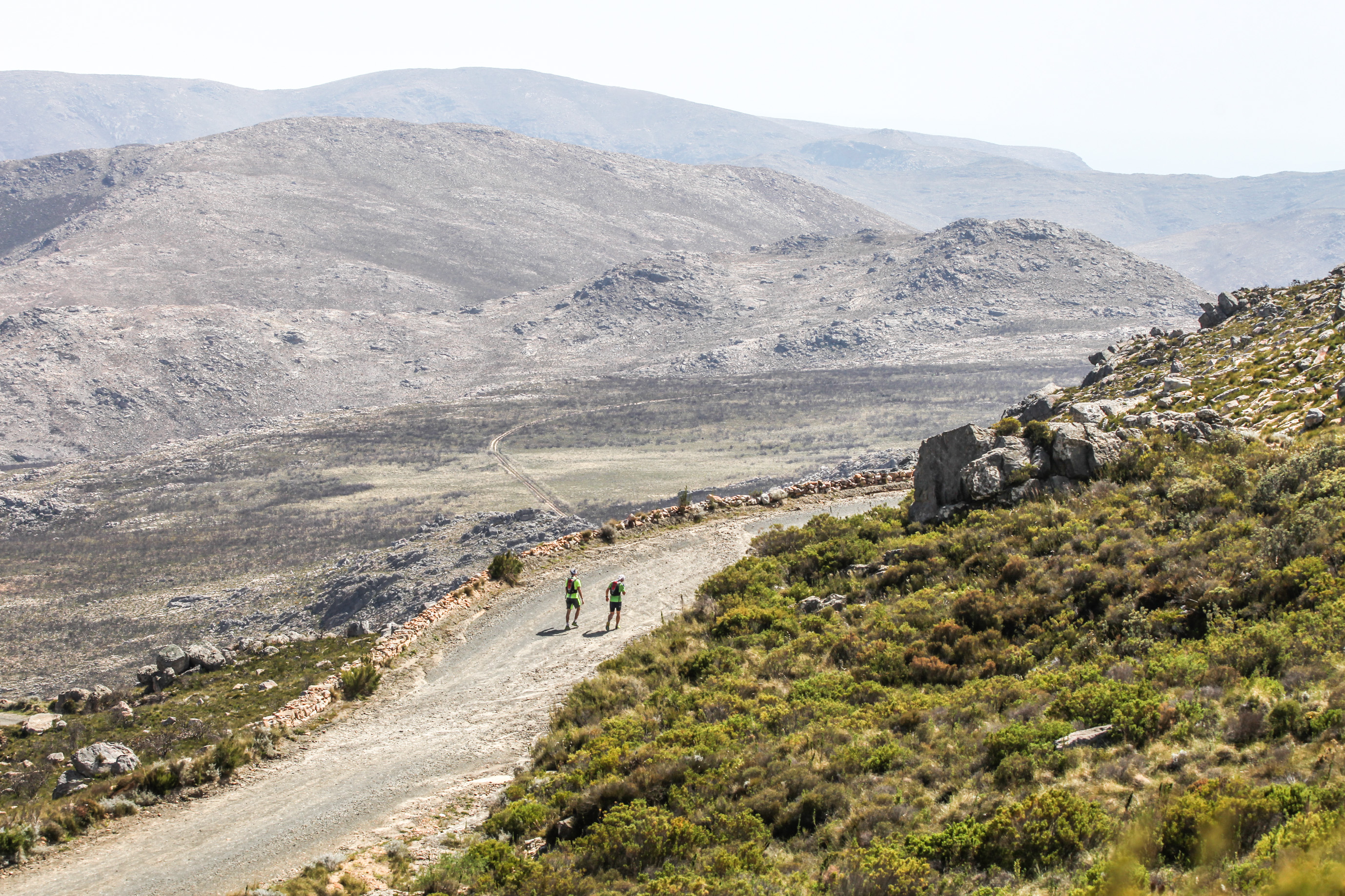 The final climb of the day was a brief section of the Northern side of the Swartberg Pass. Photo by Oakpics.com.